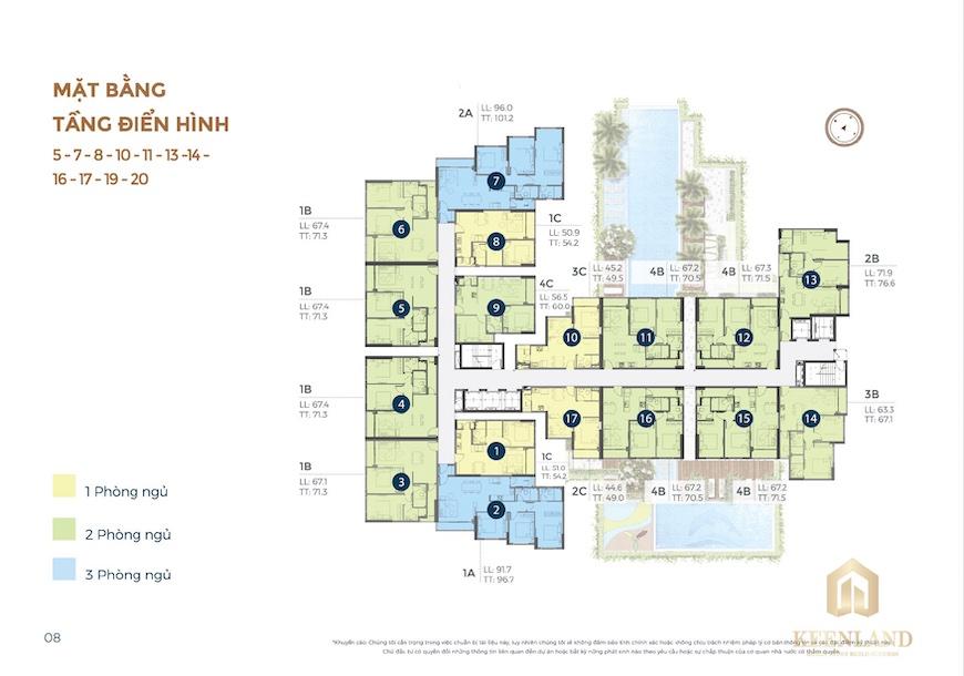 Thiết kế dự án căn hộ Precia Quận 2
