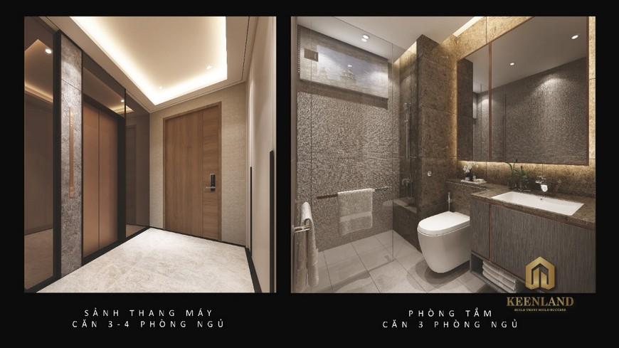 Phòng tắm nhà mẫu The River Thủ Thiêm quận 2