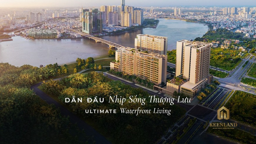 Dự án căn hộ The River Thủ Thiêm quận 2 - dự án thứ 2 trong danh sách căn hộ Quận 2 đủ pháp lý mở bán năm 2020