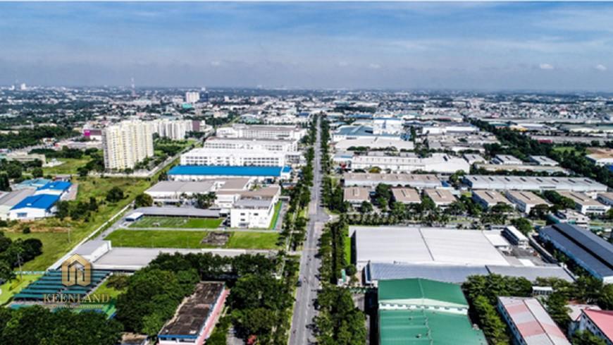 Vị trí địa chỉ Phú Đông Sky Garden