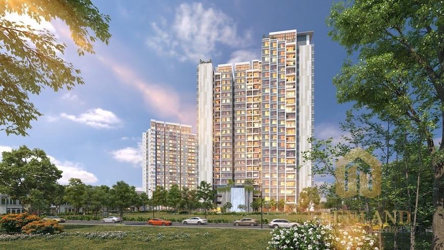 Góc nhìn tổng thể dự án căn hộ Precia Quận 2
