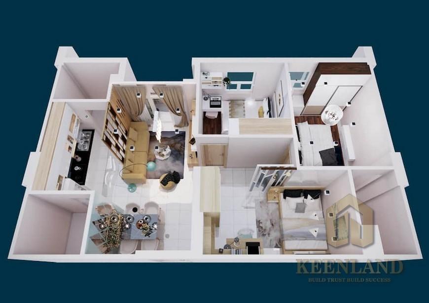 Thiết kế Tecco Vina Garden Quận 9 Đường Đông Tăng Long chủ đầu tư Tập đoàn Tecco