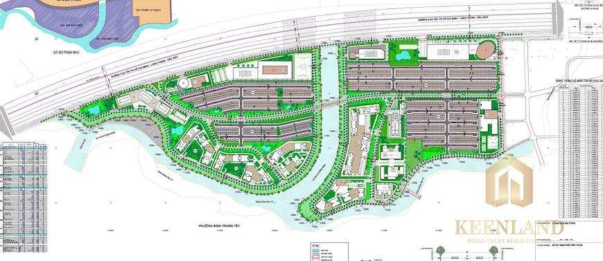 Quy hoạch tổng thể khu dân cư Nam Rạch Chiếc Quận 2