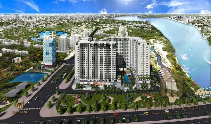 Vị trí địa chỉ dự án căn hộ chung cư Tecco Vina Garden Quận 9