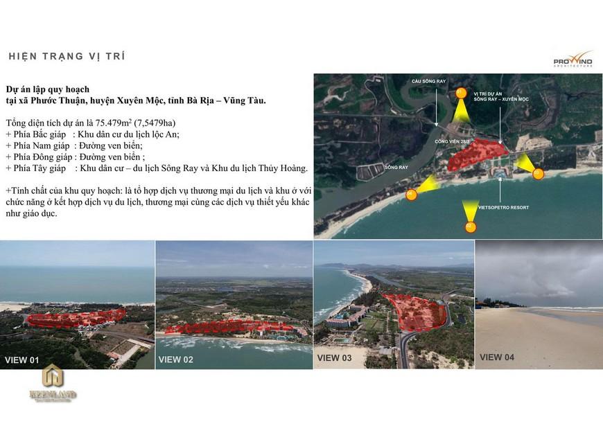 Vị trí địa chỉ Hồ Tràm Complex
