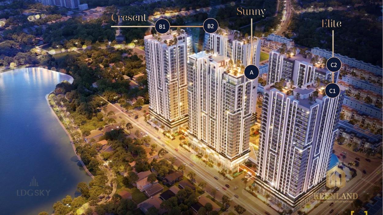 Tổng thể dự án căn hộ LDG Sky Bình Dương