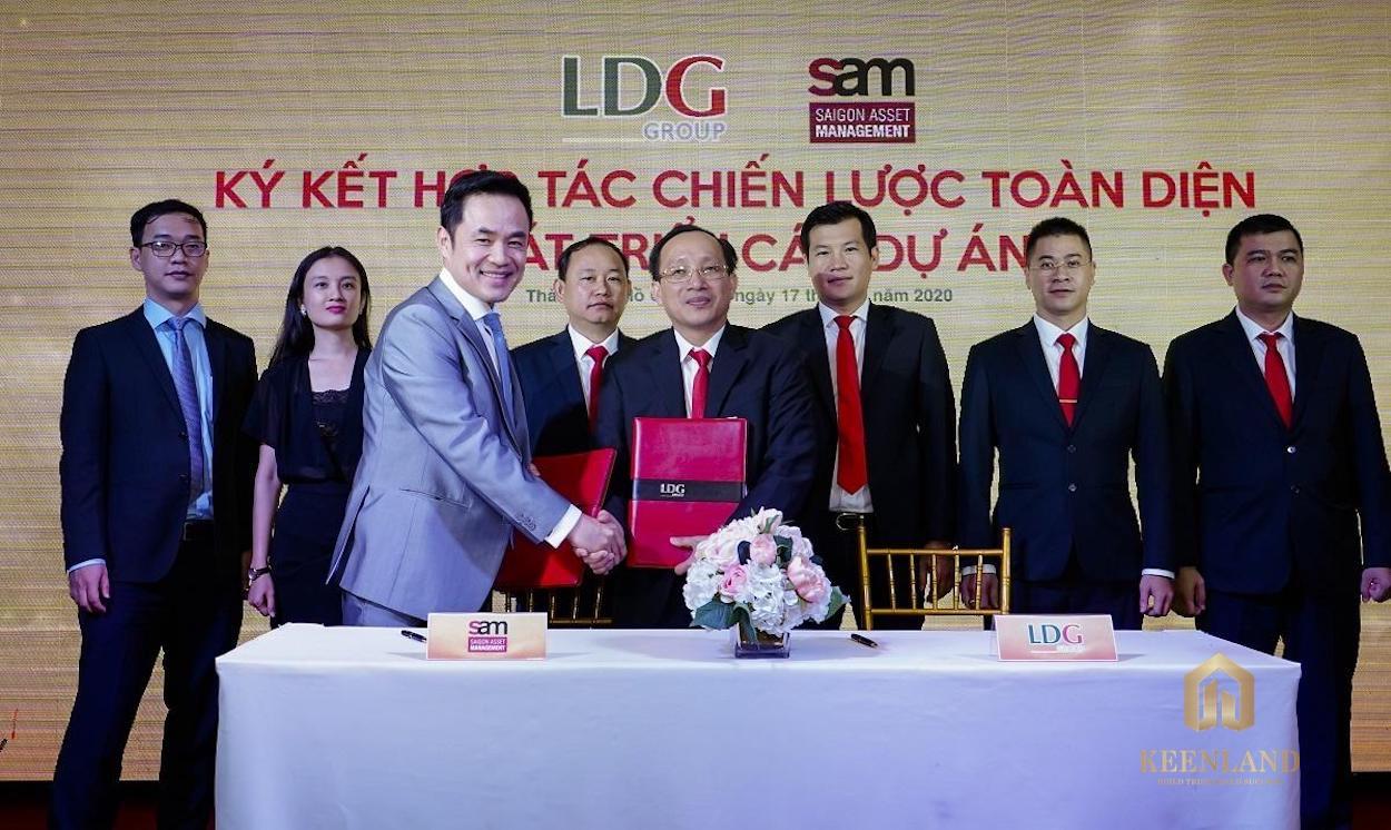 Chủ đầu tư LDG Sky ký hợp tác với quỹ đầu tư S.A.M công bố 5 dự án chiến lược trong thời gian tới
