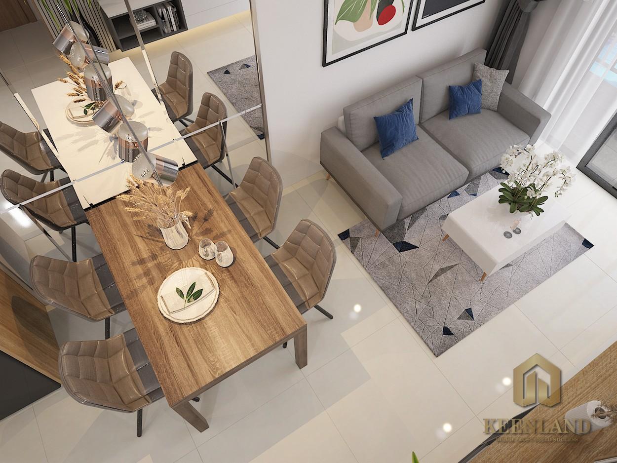 Góc phối cảnh nội thất dự án căn hộ Bcons Plaza Bình Dương