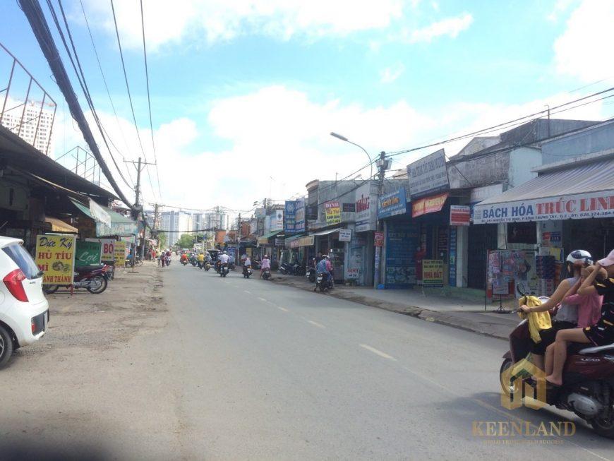 Thực tế góc hình ảnh đường Nguyễn Thị Định Quận 2