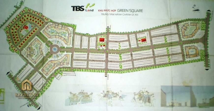 Mặt bằng thiết kế dự án Green Square