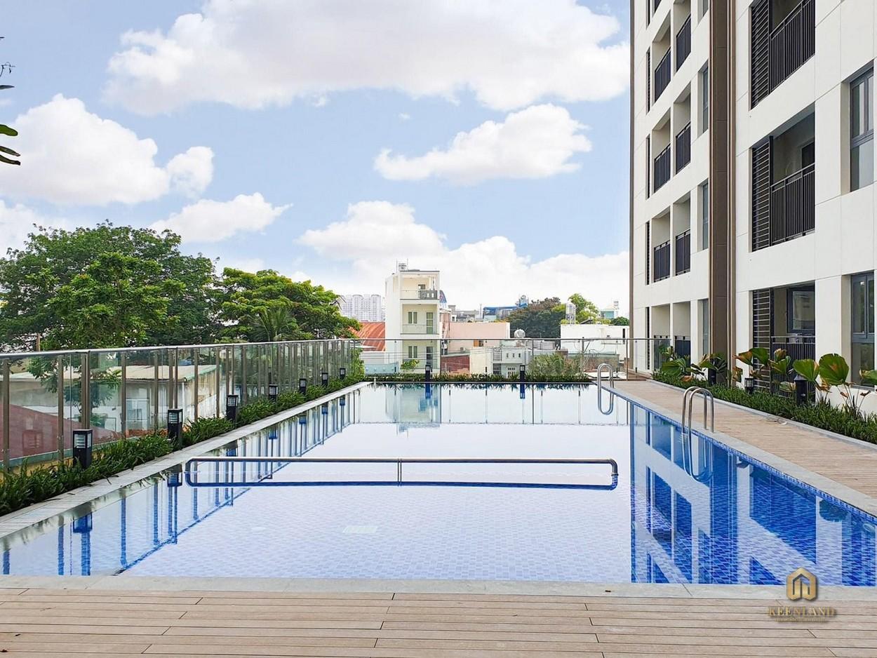 Hồ bơi dự án căn hộ Saigon Asiana Quận 6
