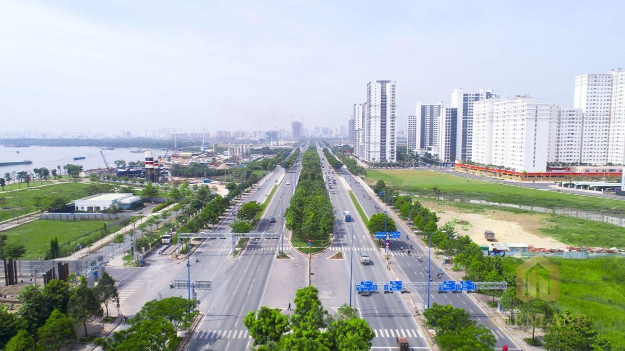 Tuyến đường Mai Chí Thọ với nhiều dự án căn hộ Quận 2 cao cấp