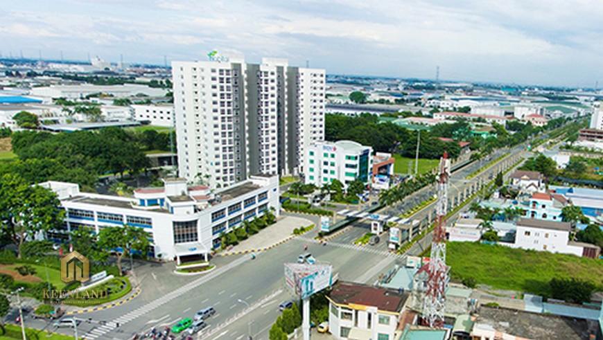 Vị trí địa chỉ Icon Plaza Bình Dương