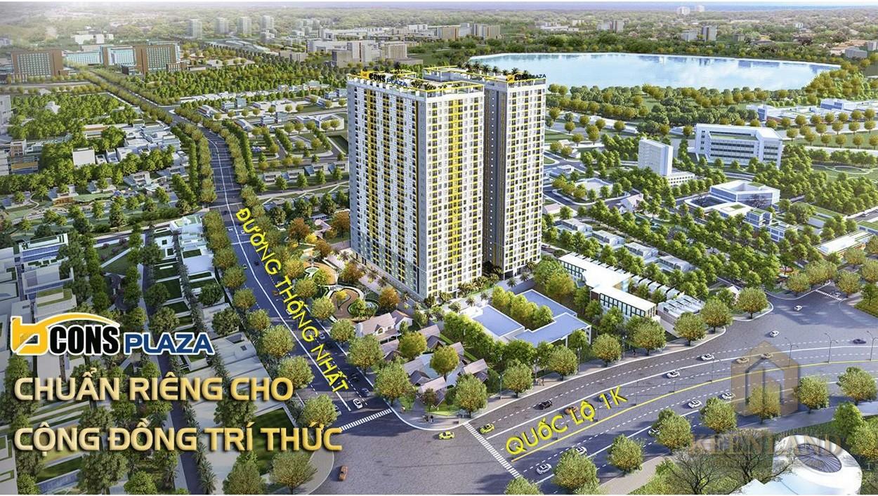 mua bán cho thuê dự án căn hộ chung cư Bcons Miền Đông chủ đầu tư Bcons