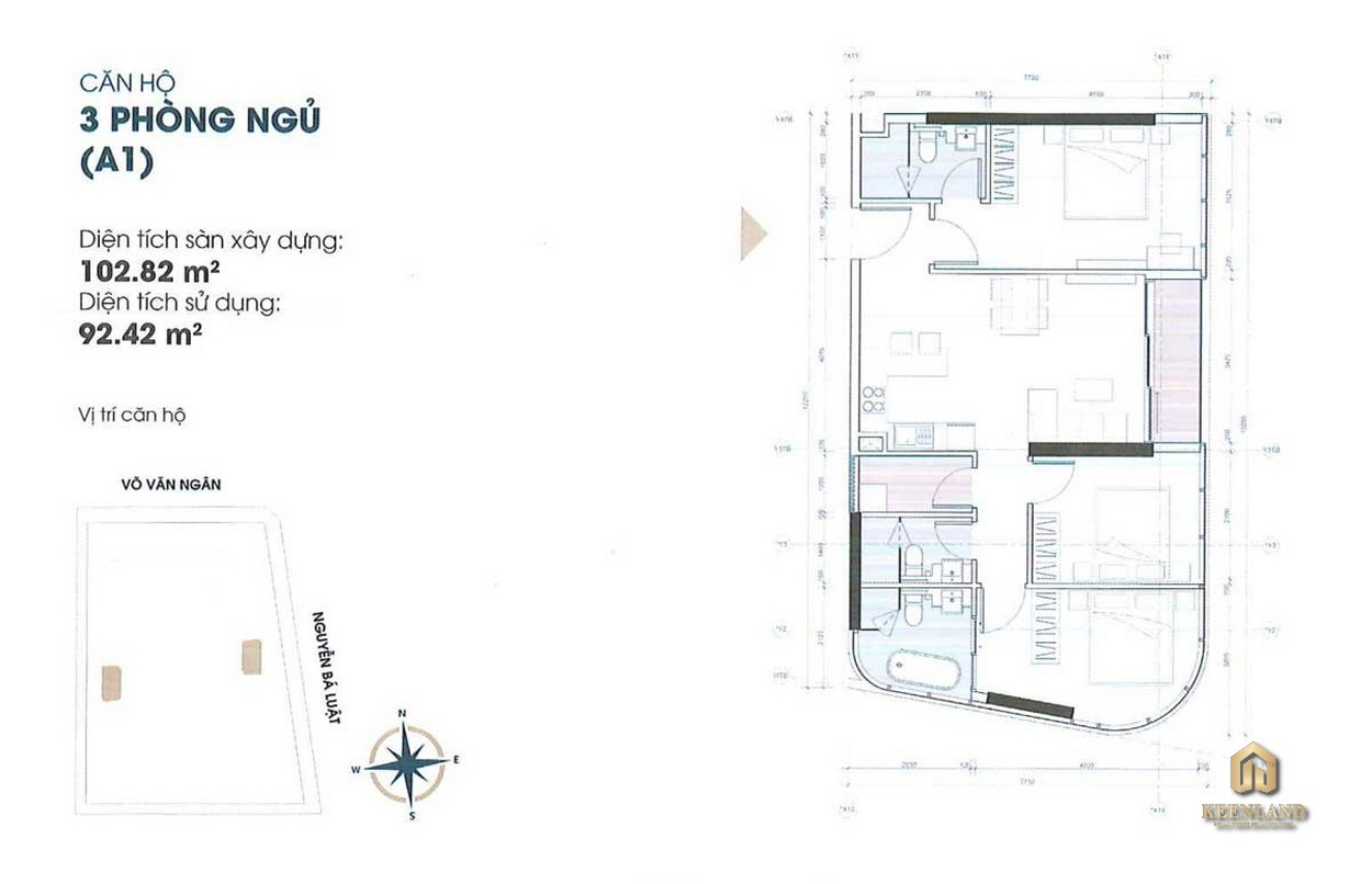 Mua bán cho thuê dự án căn hộ King Crown Infinity Thủ Đức