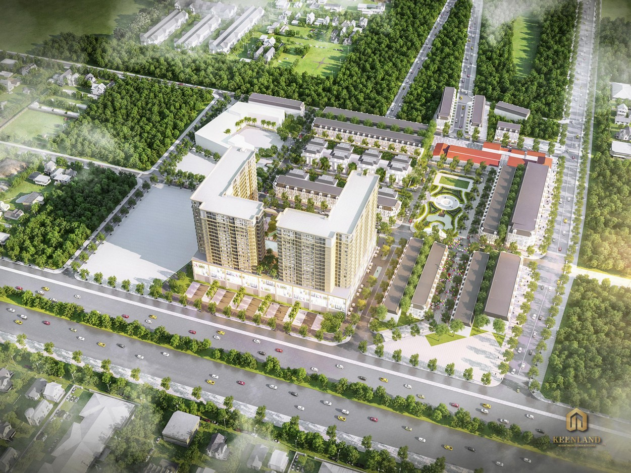 Mua bán cho thuê dự án khu dân cư Conic Residences Quận 12