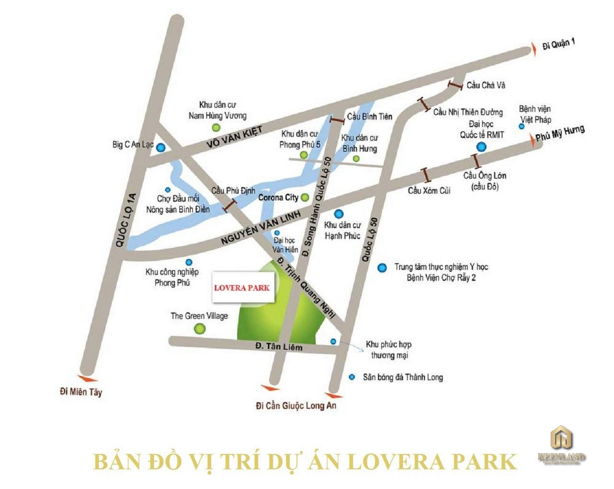 Mua bán cho thuê dự án nhà phố biệt thự Lovera Premier Bình Chánh