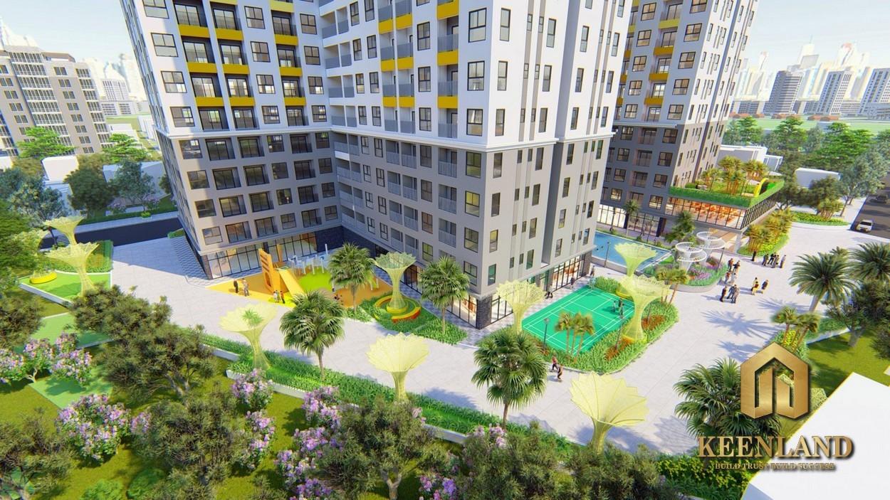 phối cảnh dự án căn hộ Bcons Green View Bình Dương
