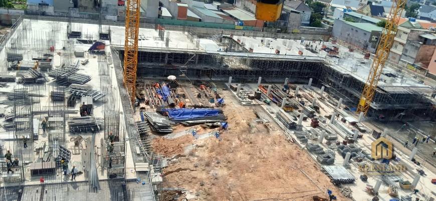Tiến độ dự án căn hộ Bcons Garden Dĩ An Tháng 08/2020