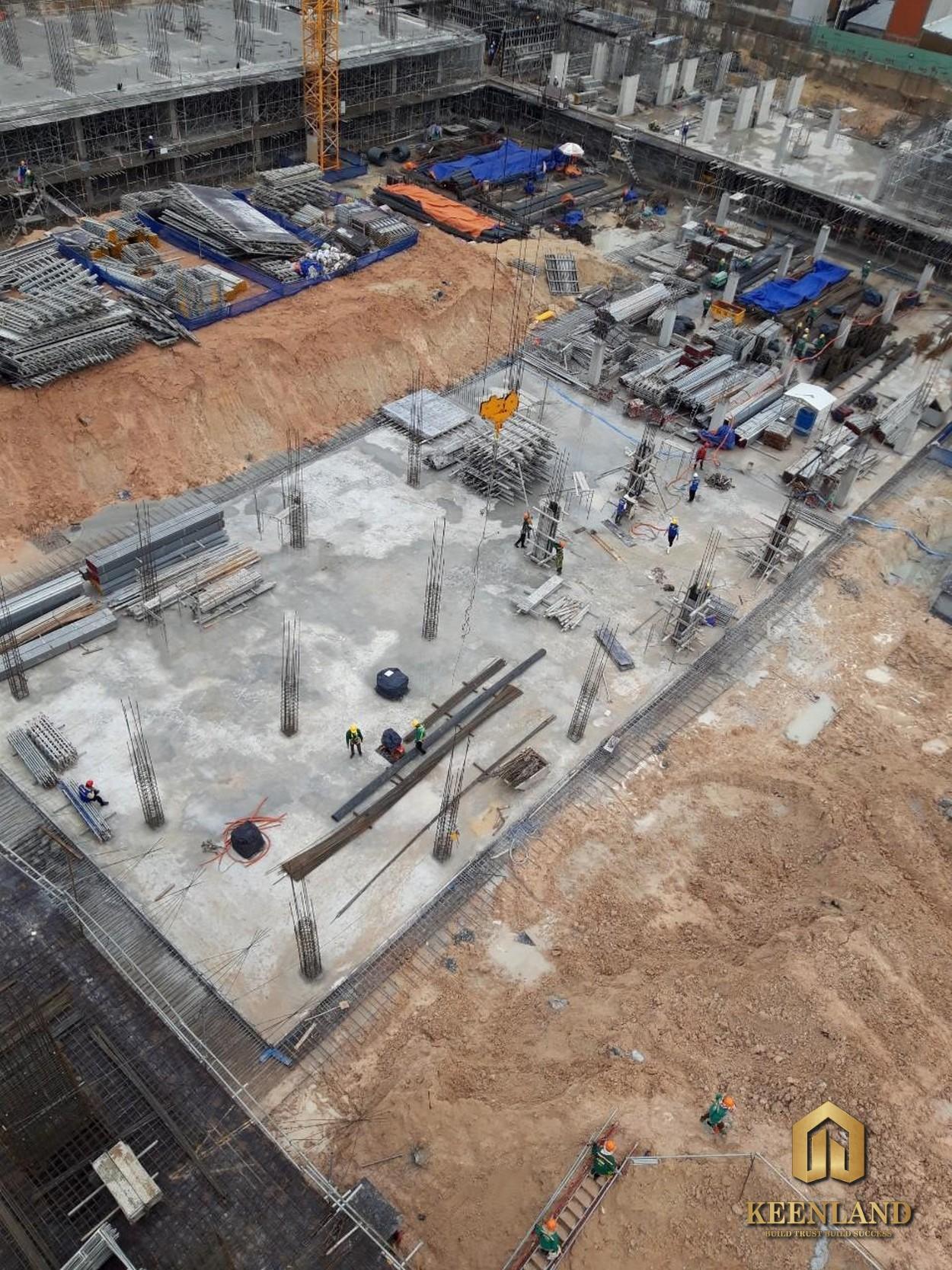 Tiến độ xây dựng dự án Bcons Garden Bình Dương tháng 08/2020