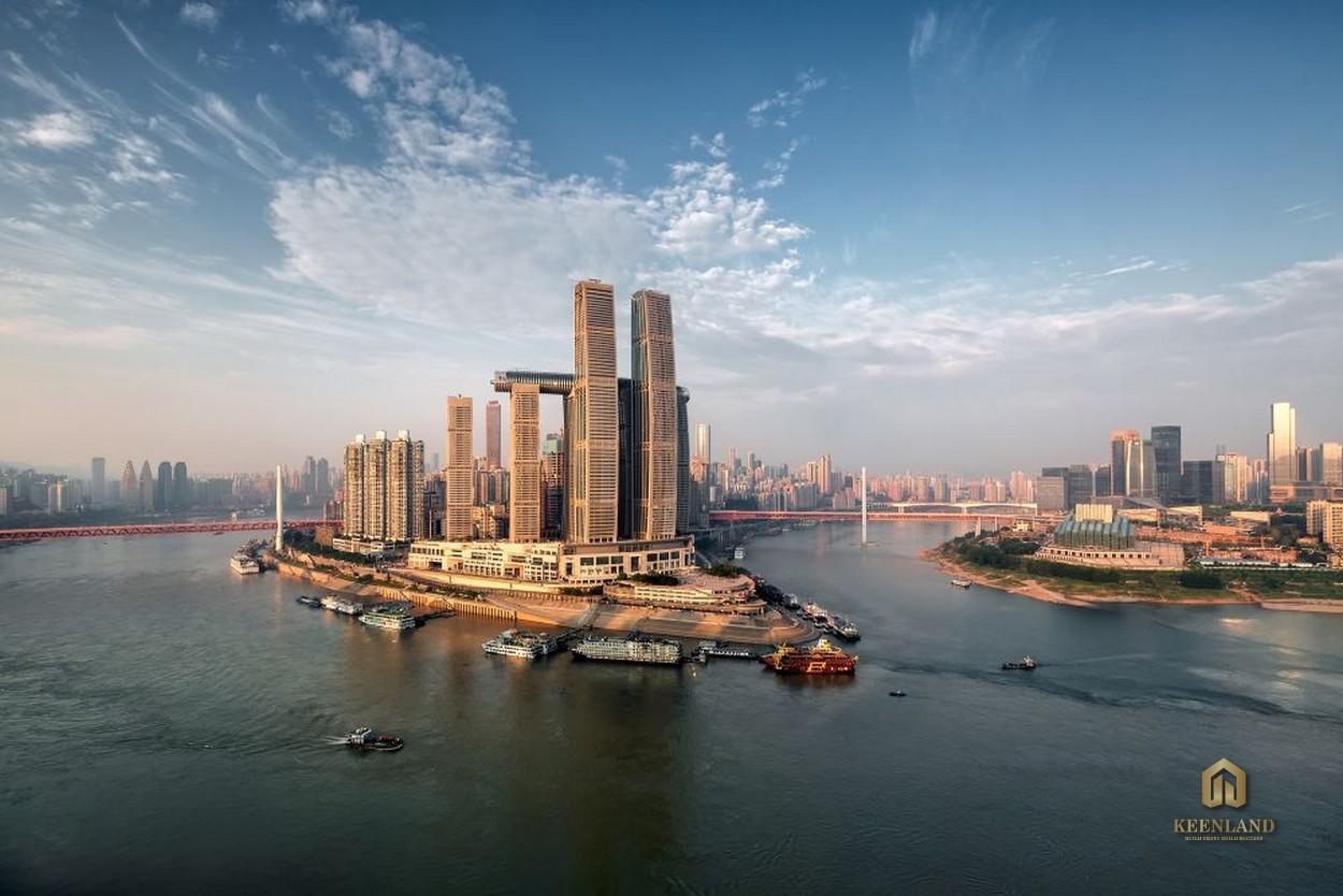Và đây là kỳ quan mới ở Trùng Khánh