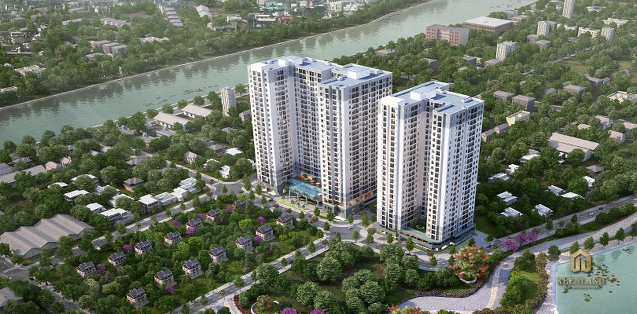 Phối cảnh dự án căn hộ M-one Nam Sài Gòn