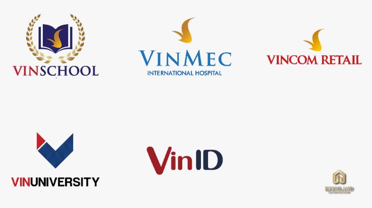 Một số thương hiệu Việt của chủ đầu tư Vinhomes