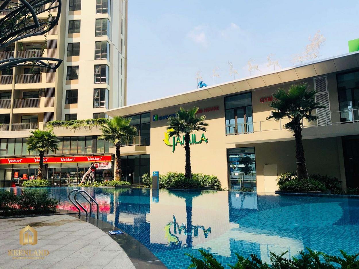 Thực tế dự án căn hộ Jamila Khang Điền