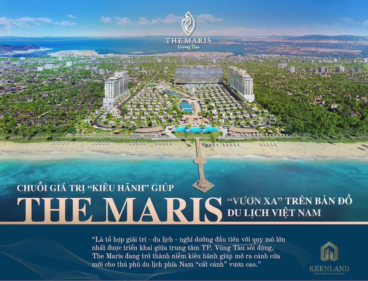 Thông tin dự án căn hộ condotel & biệt thự The Maris Vũng Tàu update từ Chủ đầu tư