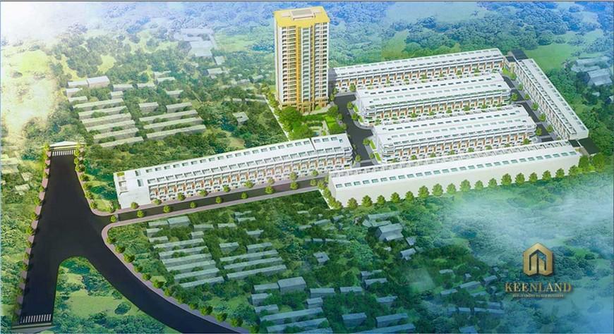 Mặt bằng dự án căn hộ Tecco Tower Bình Dương
