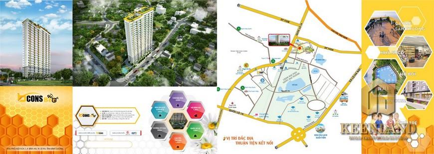 Giá bán dự án căn hộ Bcons Bee