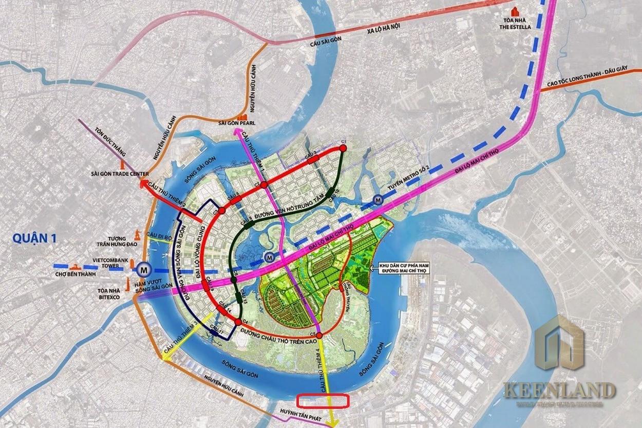 Kết nối khu vực thông qua hạ tầng giao thông đang được đầu tư