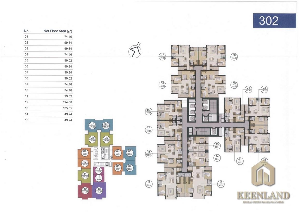 Mua bán cho thuê dự án căn hộ chung cư Laimian City Quận 2 chủ đầu tư HDTC