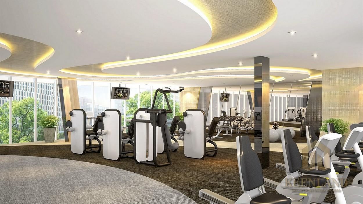 Tiện ích dự án căn hộ Palm Heights Quận 2 - phòng tập thể dục thể thao
