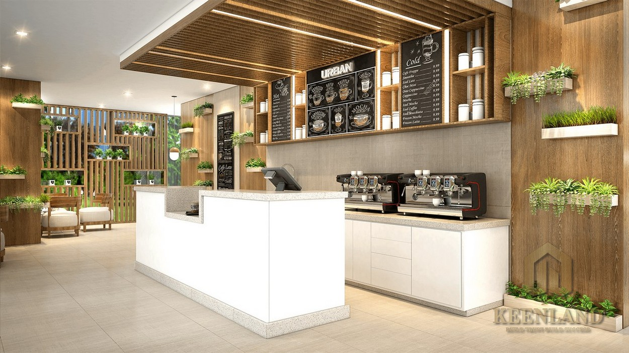 Tiện ích ngoại khu Palm Heights - các quán ăn, nhà hàng, coffee,..