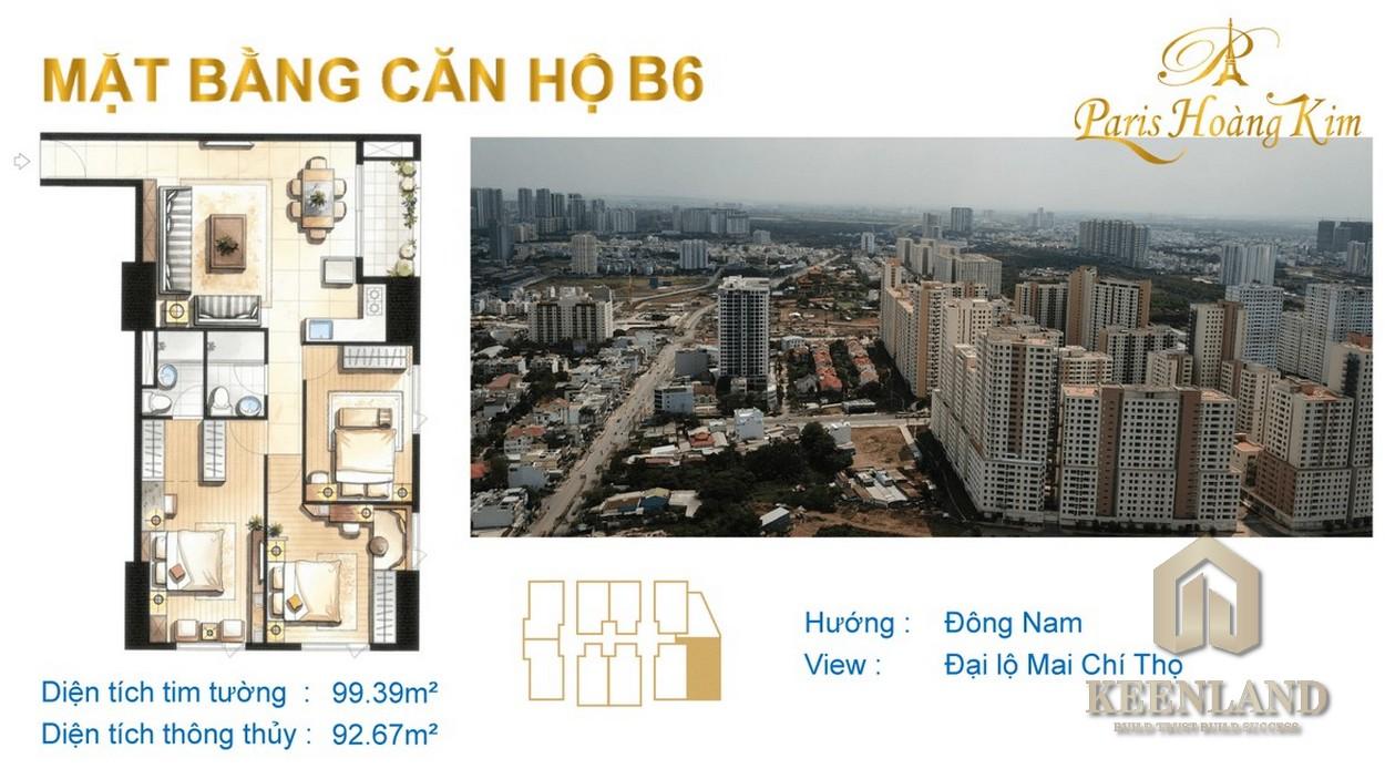 Mua bán cho thuê dự án căn hộ chung cư Paris Hoàng Kim Quận 2 chủ đầu tư Khởi Thành