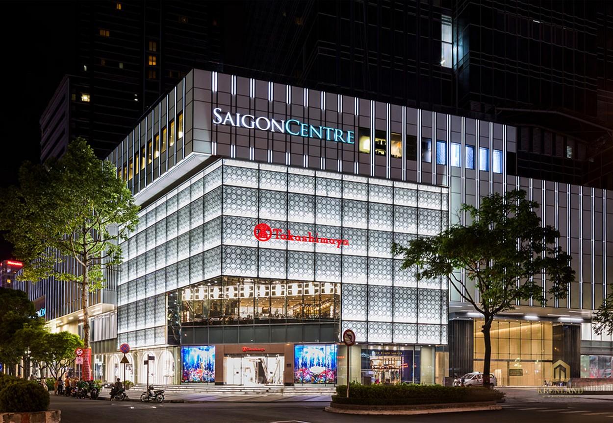 Dự án khu phức hợp Saigon Centre của chủ đầu tư Keppel Land
