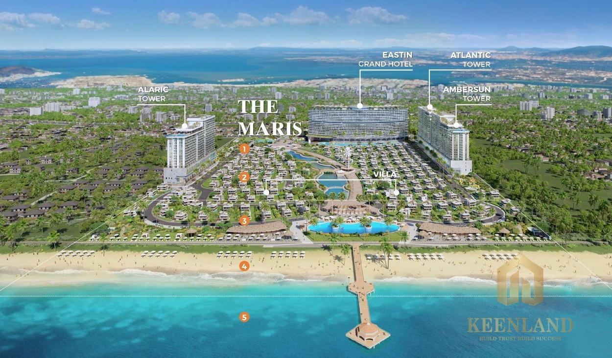 Tiện ích dự án The Maris Vũng Tàu