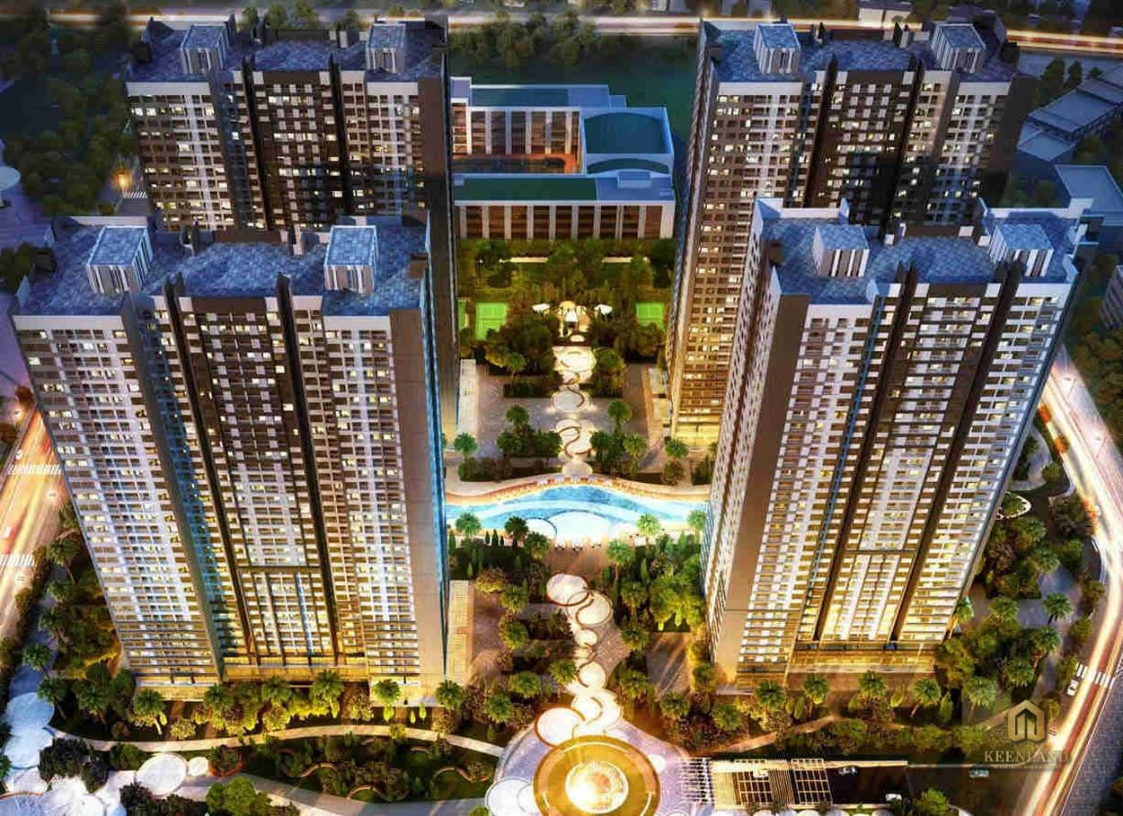 Hình ảnh dự án Opal Cityview nhìn từ trên cao