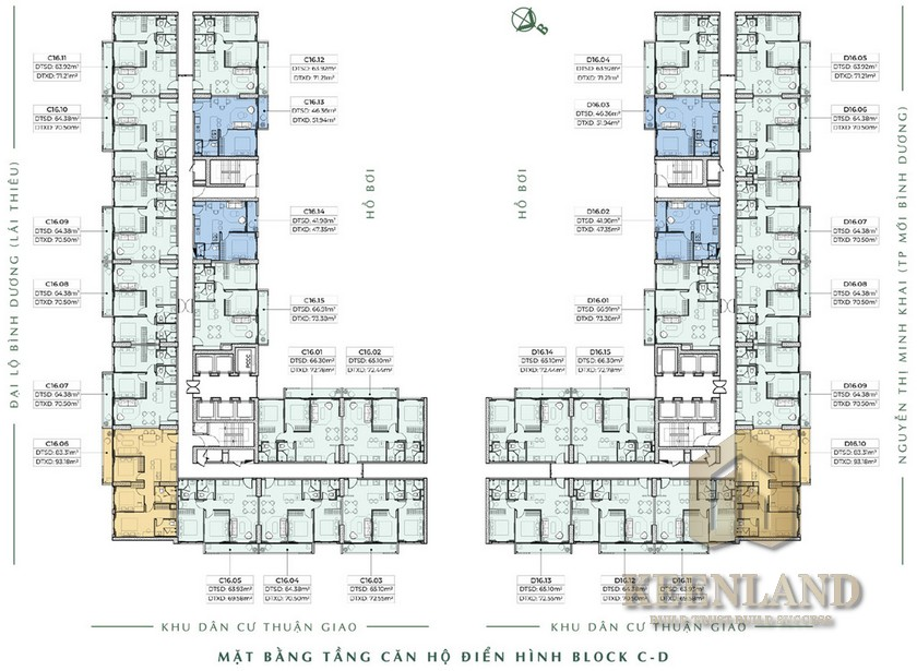 Thiết kế dự án căn hộ Anderson Park Thuận An Đường Thuận An chủ đầu tư Quốc Cường