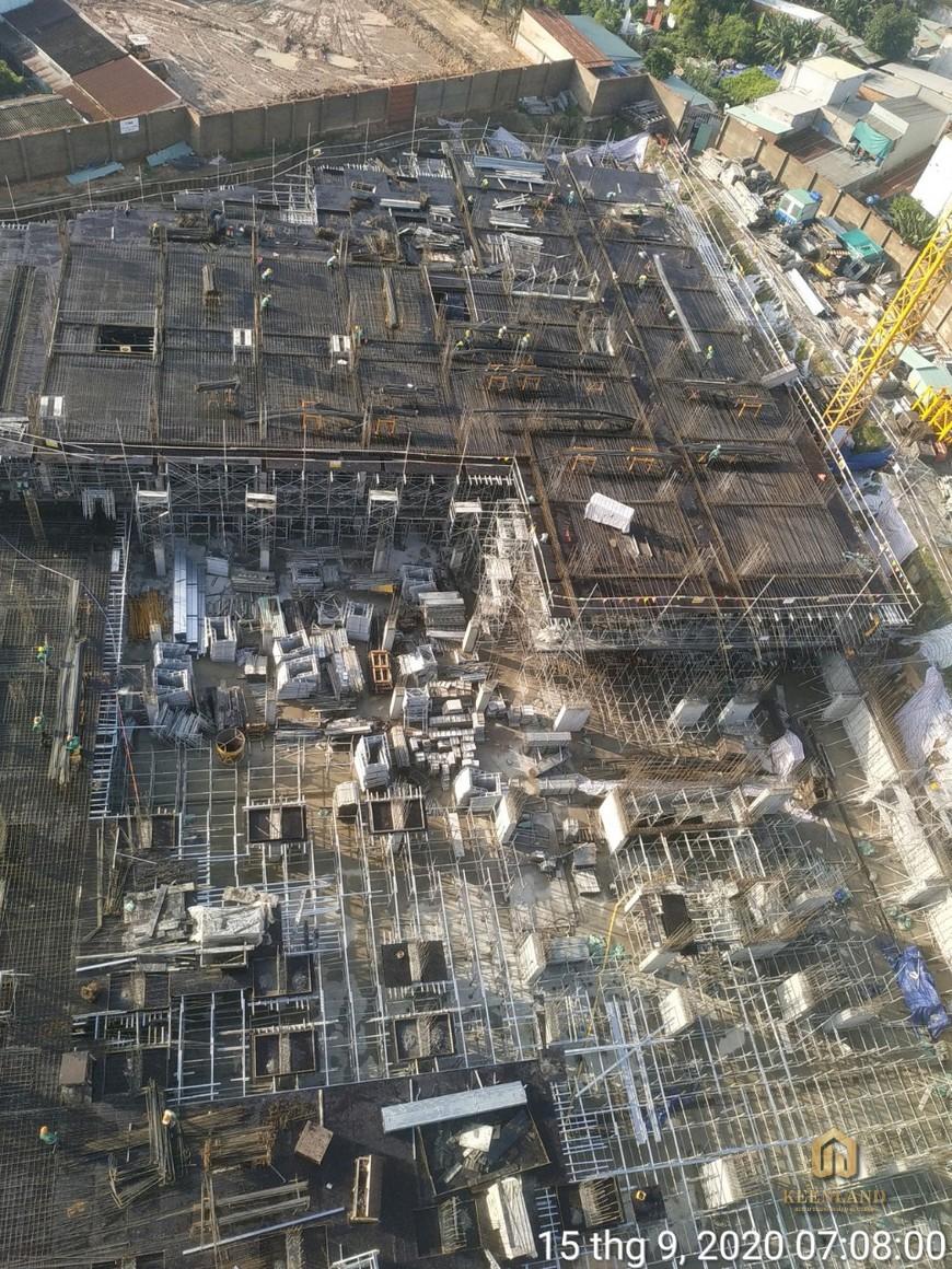 Tiến độ xây dựng dự án Bcons Green View Bình Dương Tháng 09/2020