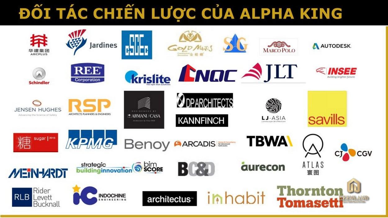 Các đối tác của chủ đầu tư Alpha King