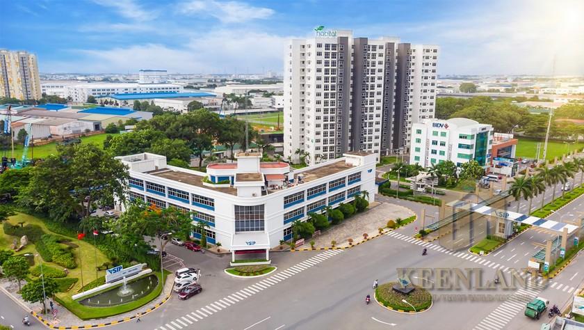Vị trí địa chỉ dự án căn hộ Anderson Park Thuận An Đường Thuận An chủ đầu tư Quốc Cường
