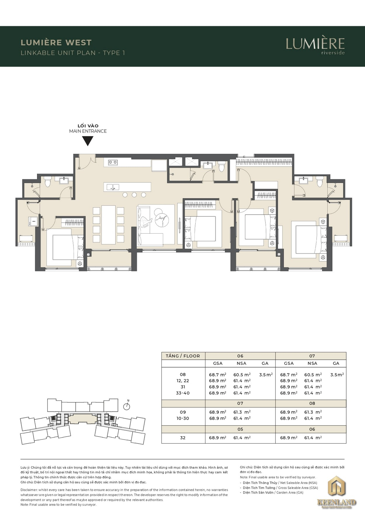 Dự án căn hộ Masterise Lumiere Riverside
