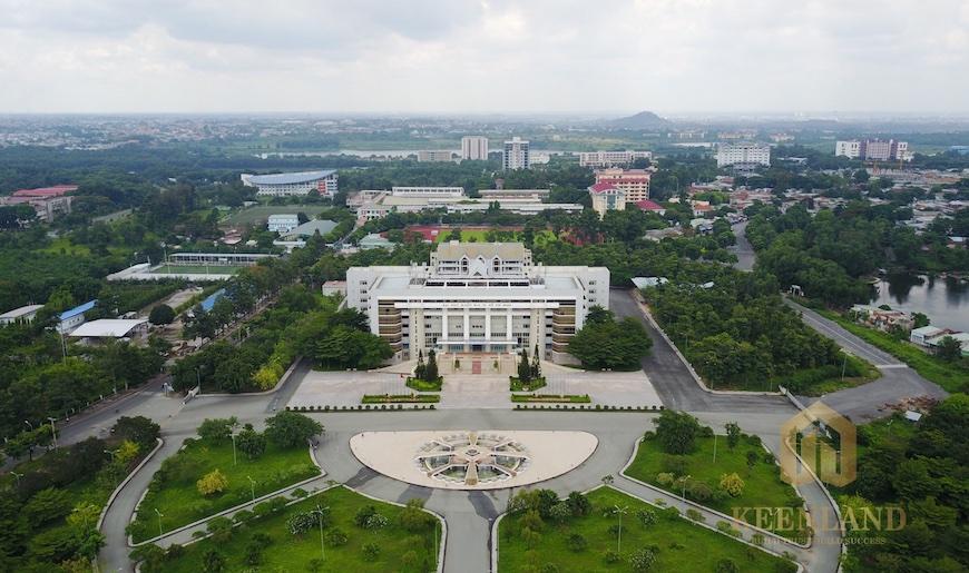 Làng đại học quốc gia Thủ Đức với các trường đại học danh tiếng