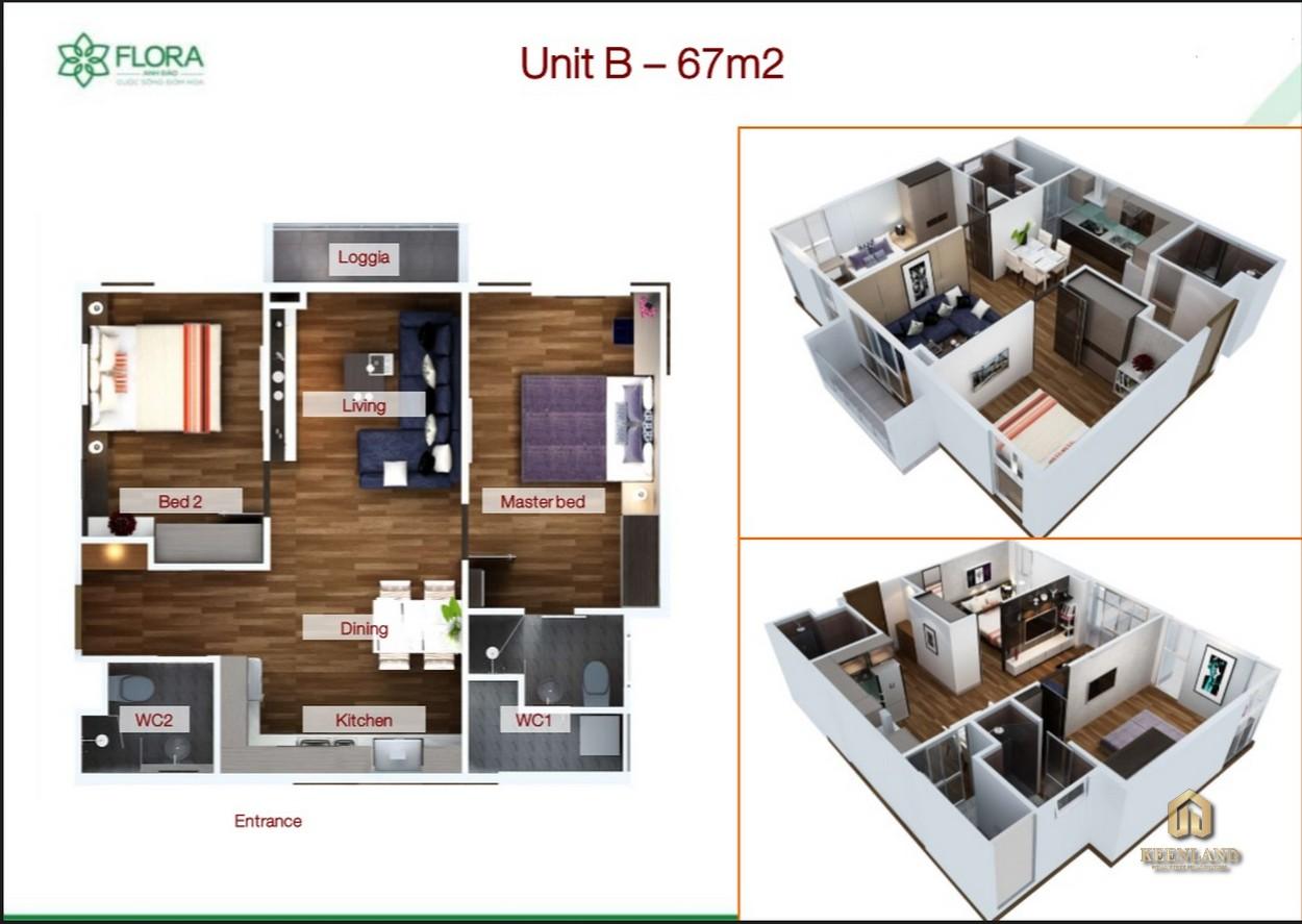 Mua bán cho thuê dự án căn hộ Flora Anh Đào Quận 9