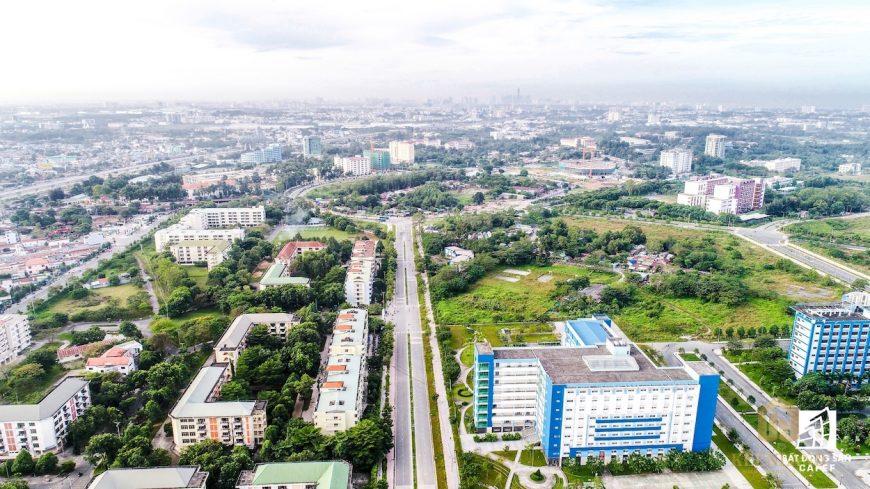 Quy hoạch làng đại học quốc gia thủ đức
