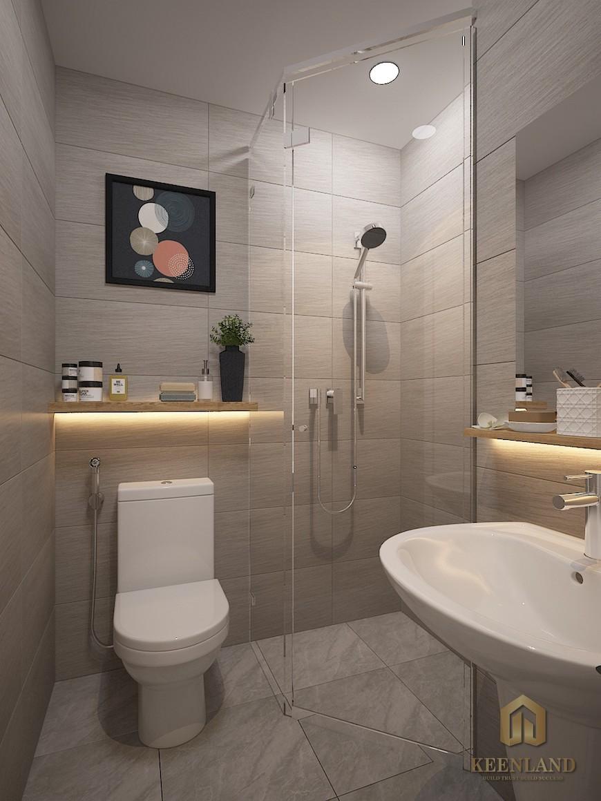 Hình ảnh nhà mẫu căn hộ Bcons Plaza Bình Dương