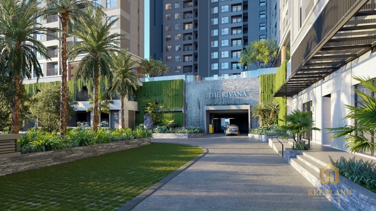 Phối cảnh tiện ích dự án căn hộ The Rivana Thuận An Bình Dương