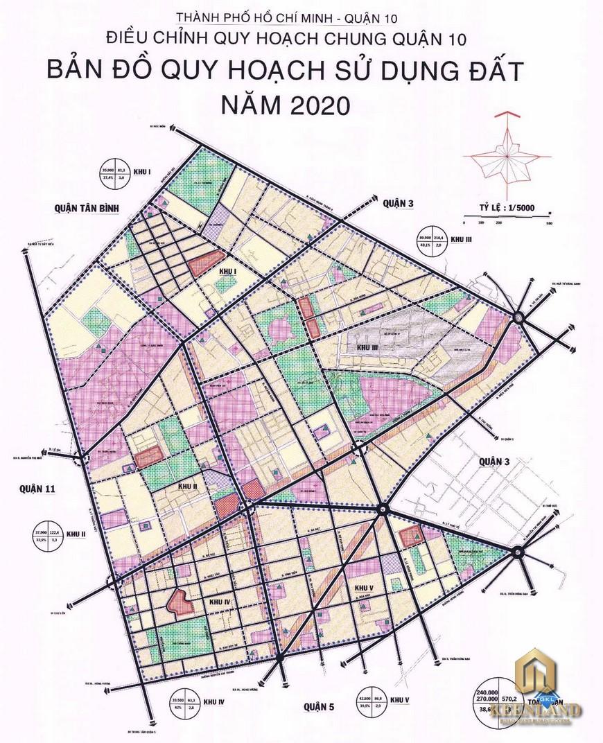 Bản đồ quy hoạch quận 10